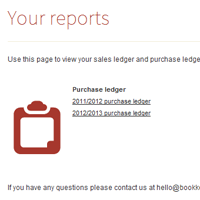 Bookkeeping software preview
